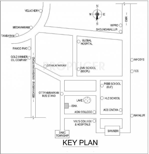 Images for Location Plan of Kaaviya Isha