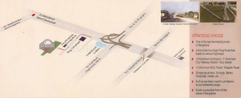 century Images for Location Plan of Chitrakut Century