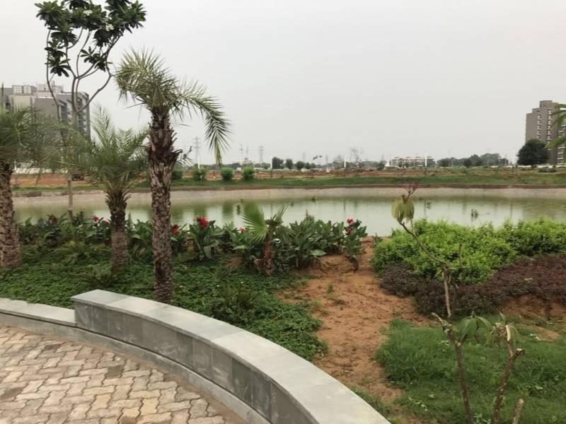Image Of Swimming Pool Of Adani Group Brahma Samsara Sector 60 Gurgaon