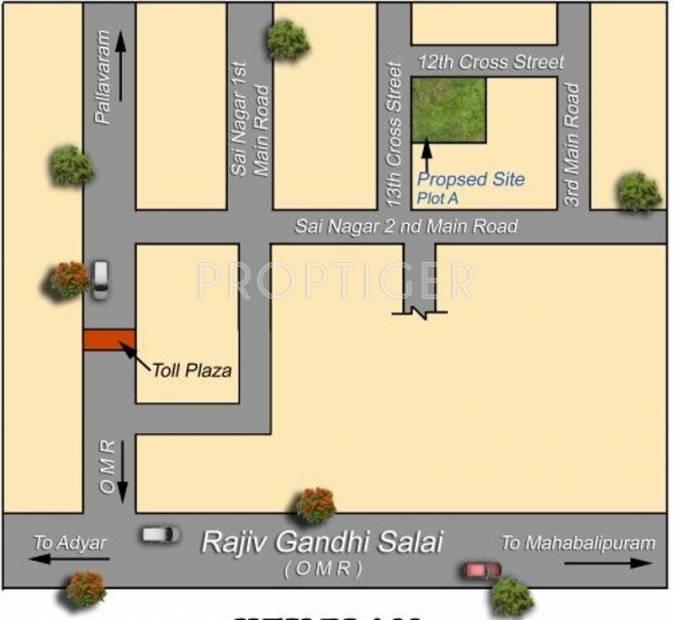Images for Location Plan of Mahalakshmi Sai Nagar