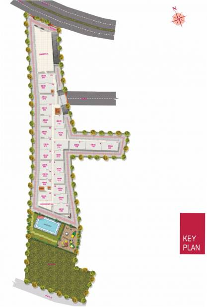 Images for Site Plan of Vaastu Tranquil