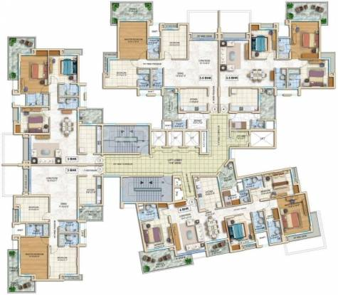Images for Cluster Plan of Tata Capitol Heights
