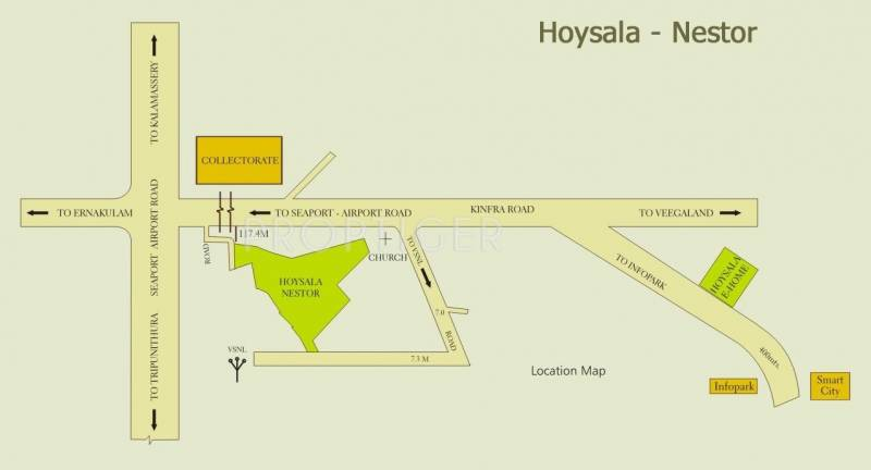 Images for Location Plan of Hoysala Nestor
