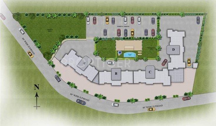 Images for Site Plan of Shree Keshriya Saffron Hillscapes