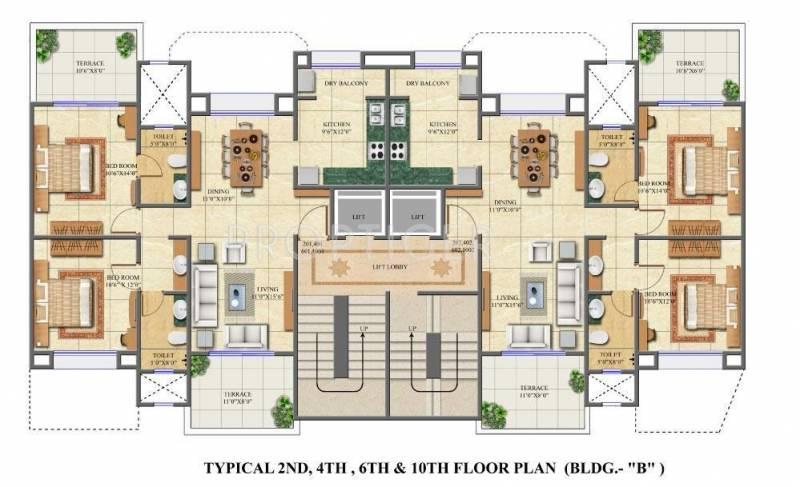 Images for Cluster Plan of Shree Keshriya Saffron Hillscapes
