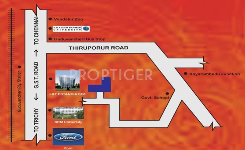 Images for Location Plan of Vamanan Estates Om Sakthi Avenue