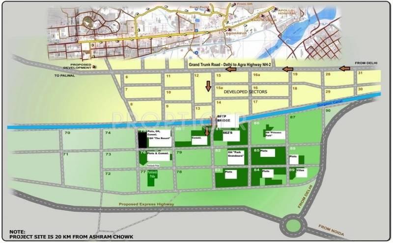 park-81 Images for Location Plan of BPTP Park 81