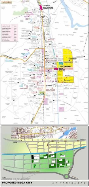 Images for Location Plan of BPTP Park Elite Floors