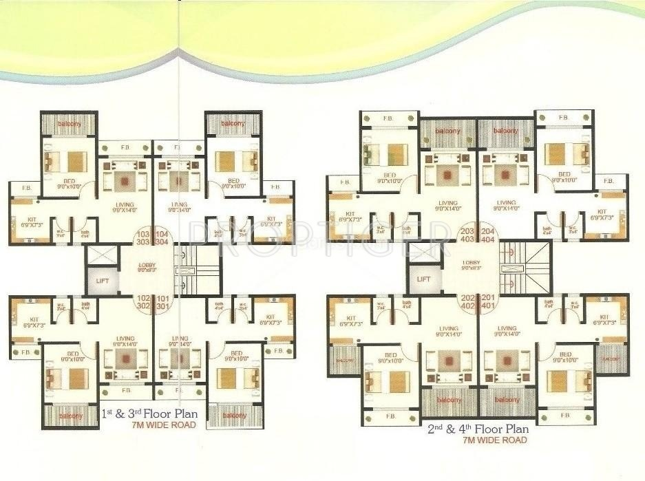 610 sq ft 1 bhk 1t apartment for sale in shree enterprises