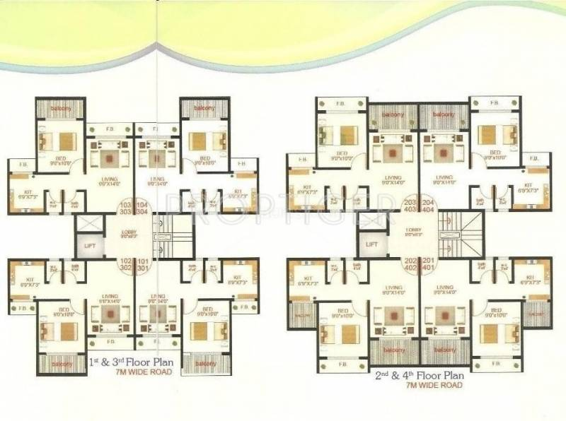 Images for Cluster Plan of Shree Enterprises Platinum Park