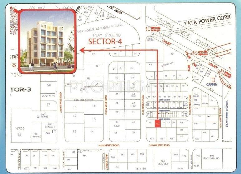 Shree Platinum Park Location Plan