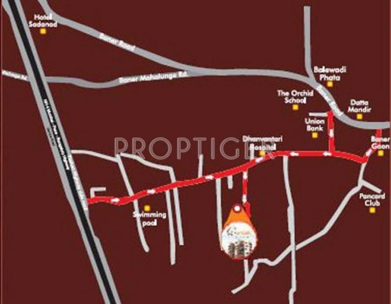 Images for Location Plan of Trimurti Orean