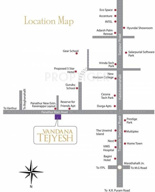 Images for Location Plan of Vandana Tejyesh