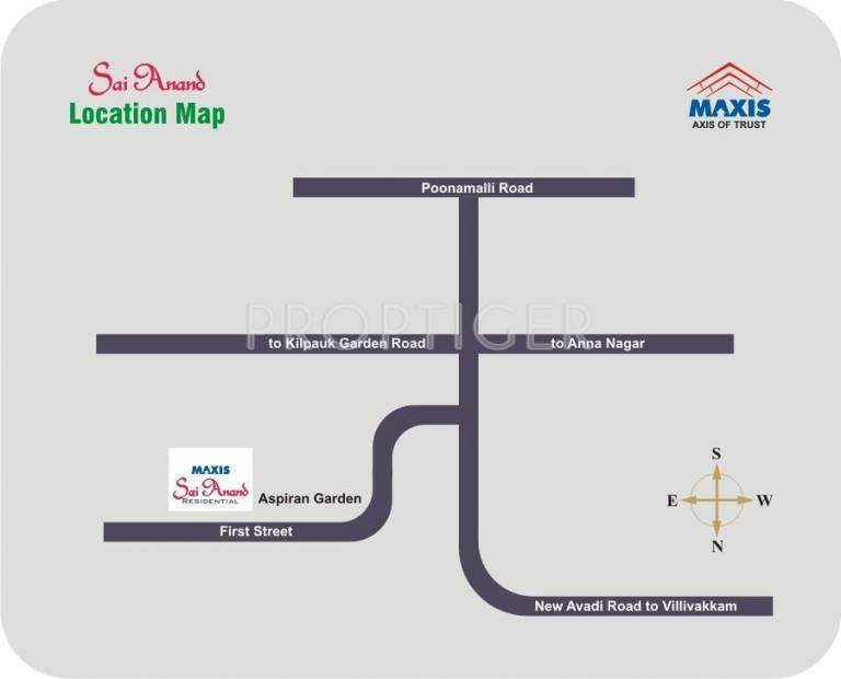 Images for Location Plan of Maxis Sai Anand