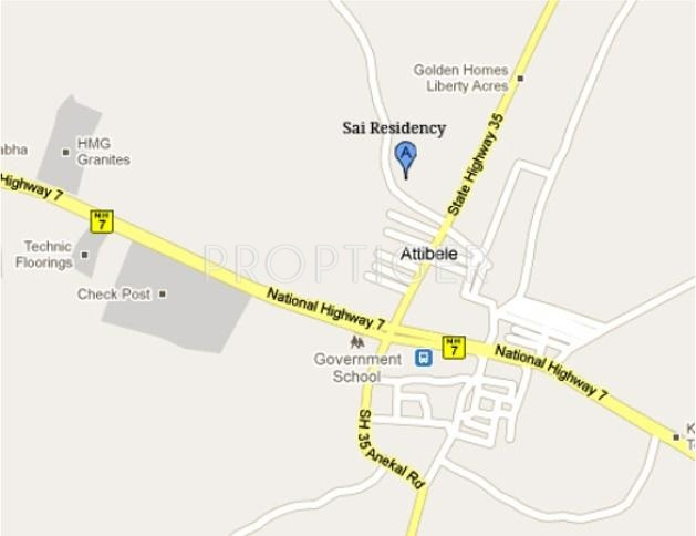 Terracon Projects Sai Residency Location Plan