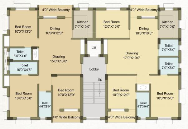mannat-palace Mannat Palace Cluster Plan