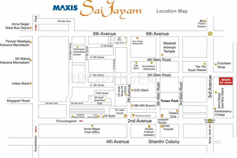 Images for Location Plan of Maxis Sai Jayam