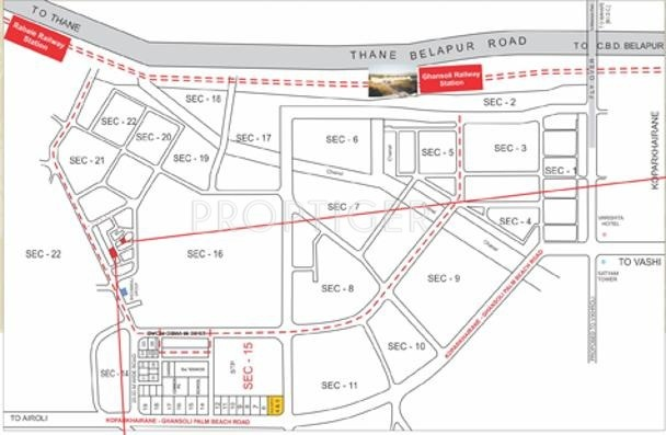 Images for Location Plan of Raj Residency