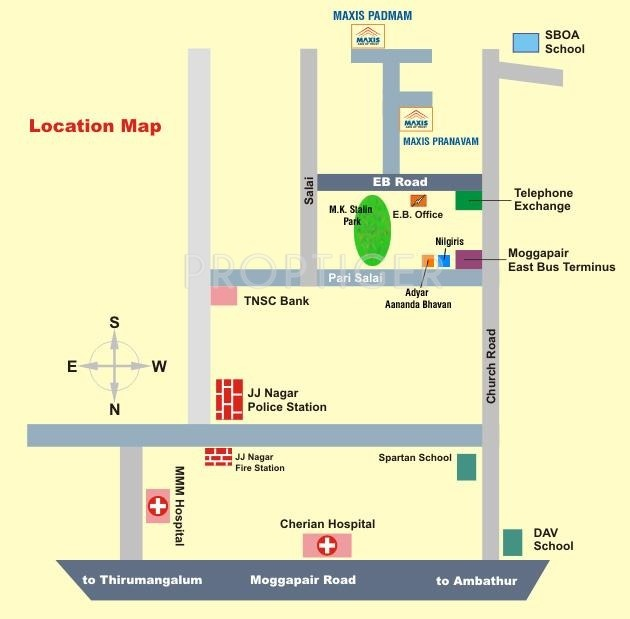 Images for Location Plan of Maxis Padmam