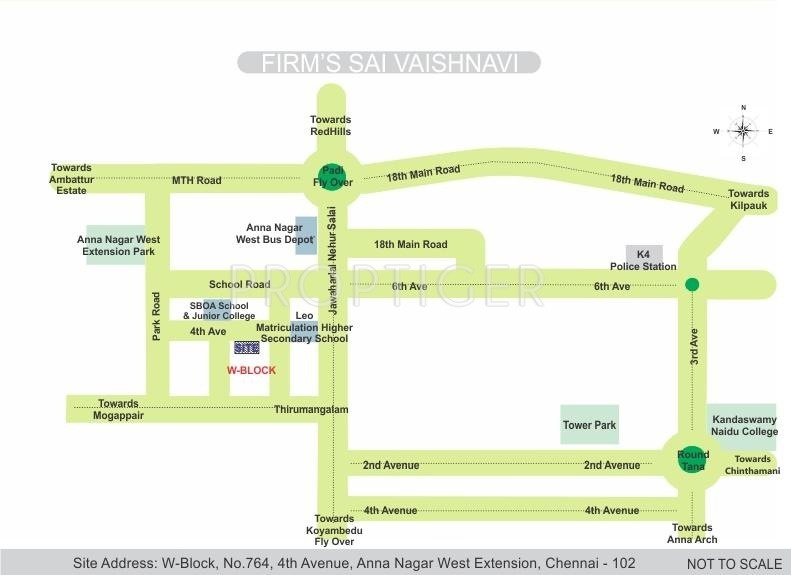 Images for Location Plan of Firm Sai Vaishnavi