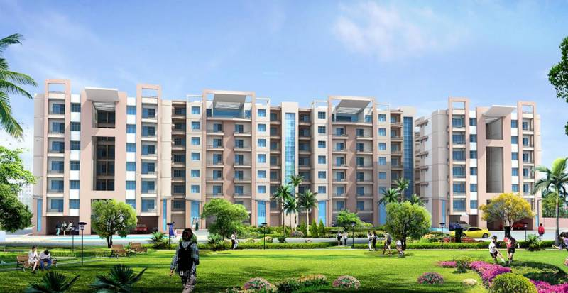 Images for Elevation of Aarohan Crystal View Apartment