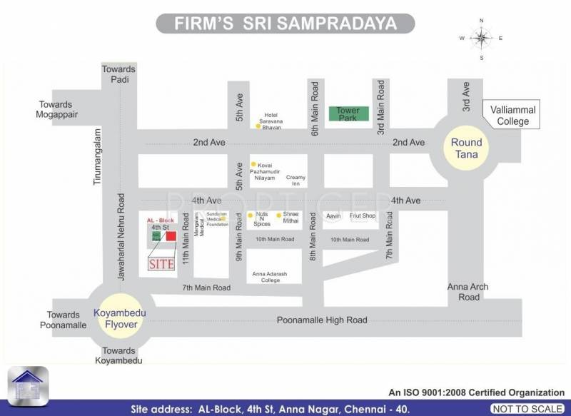 Images for Location Plan of Firm Sri Sampradaya