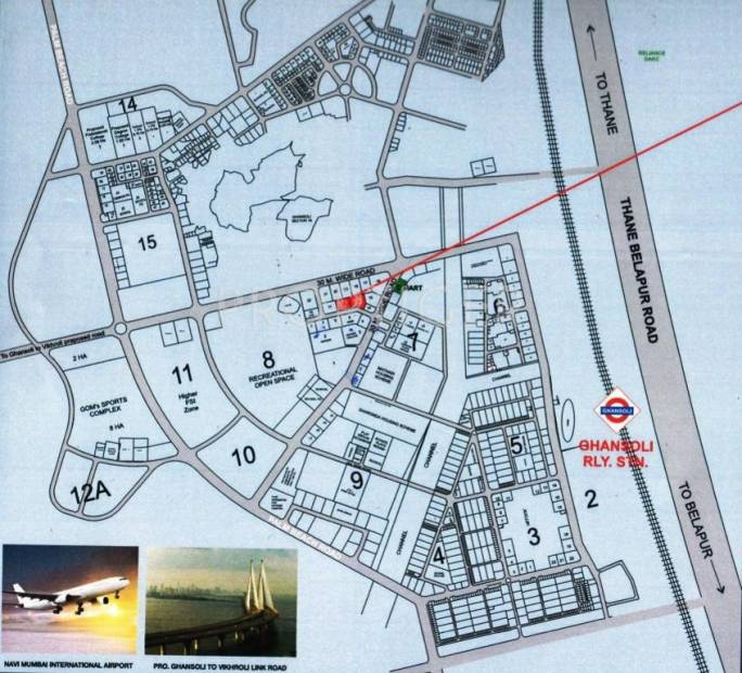 heights Images for Location Plan of Neelkanth Heights