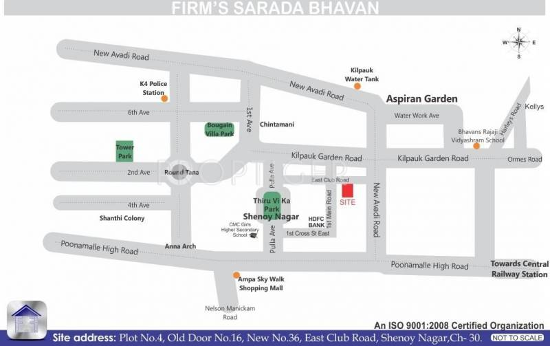 Images for Location Plan of Firm Firms Sarada Bhavan