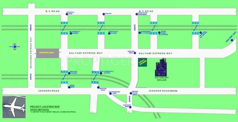 Images for Location Plan of Janapriyo Kalyani City Enclave