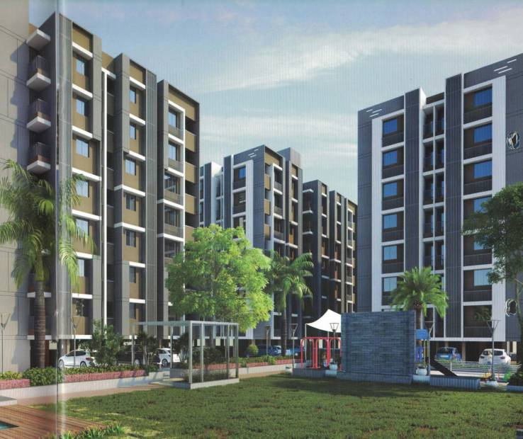 Images for Elevation of RO Radhe Om City