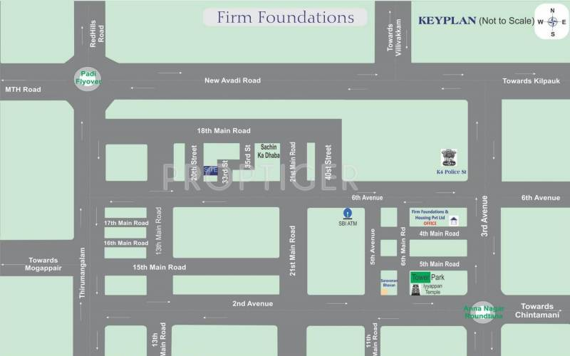 Images for Location Plan of Firm Visuvasam