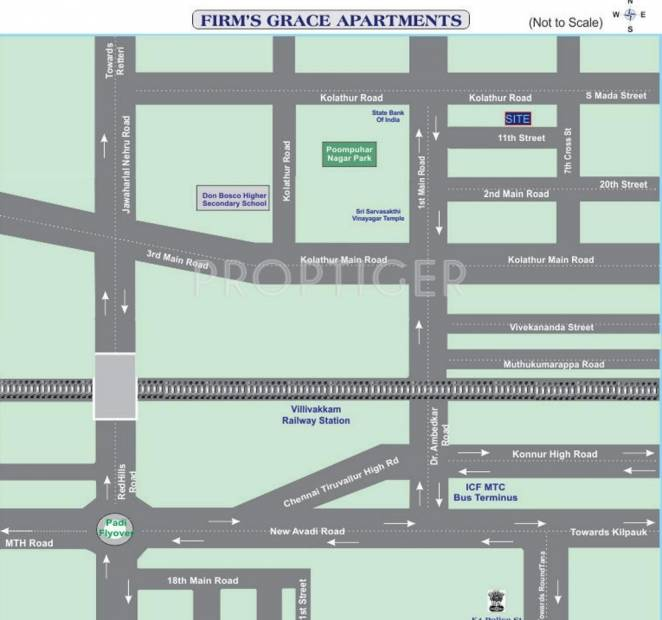 Images for Location Plan of Firm Grace Apartments