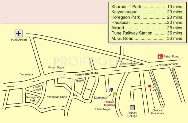 Images for Location Plan of Omkar Omkar Harmony