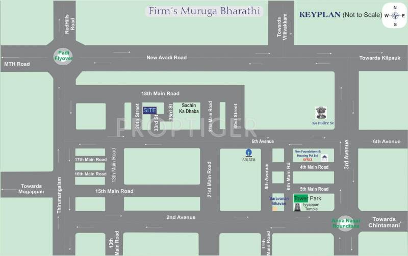 Images for Location Plan of Firm Muruga Bharathi