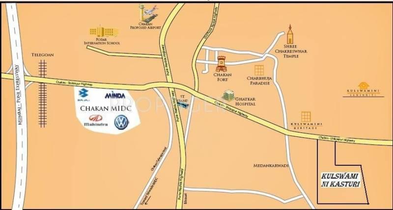 Images for Location Plan of Gawade Kasturi