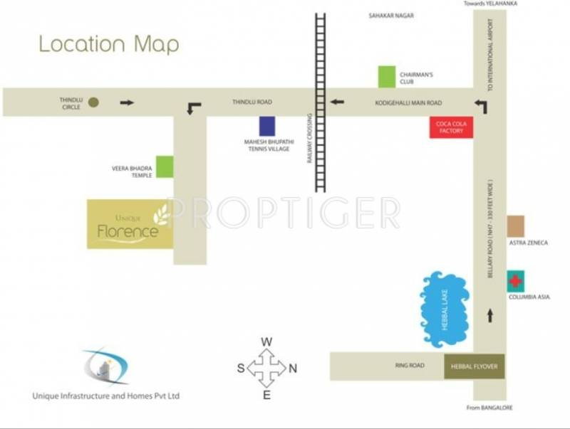Images for Location Plan of Unique Infrastructure Unique Florence