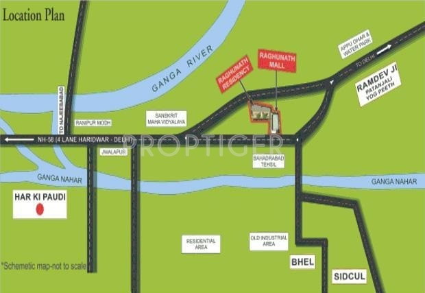 Images for Location Plan of Raghunath Estate Raghunath Residency