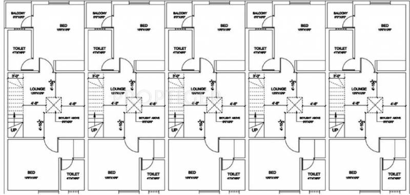 Images for Cluster Plan of Annai Smart Homes Phase II