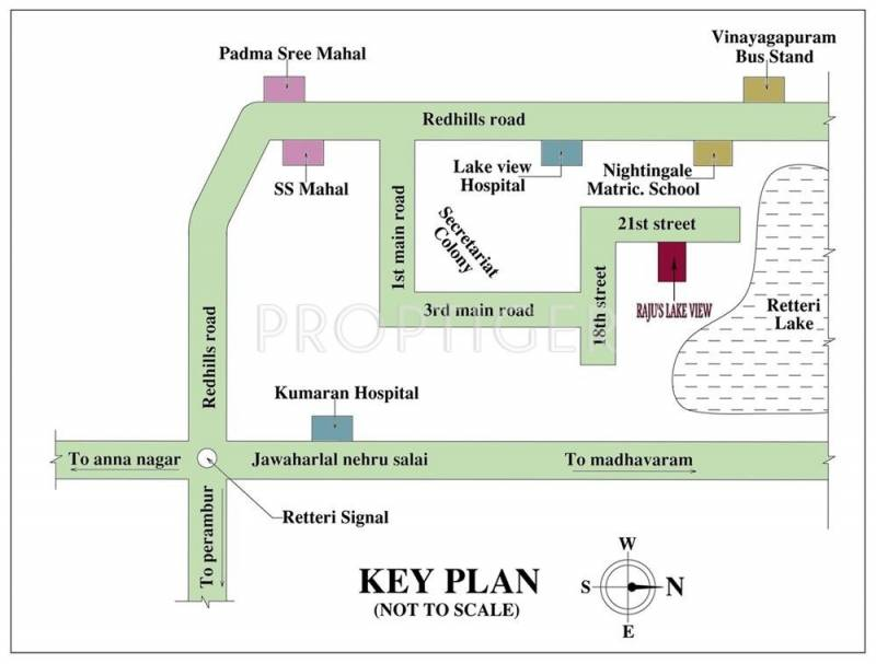 Images for Location Plan of Rajus Lake View