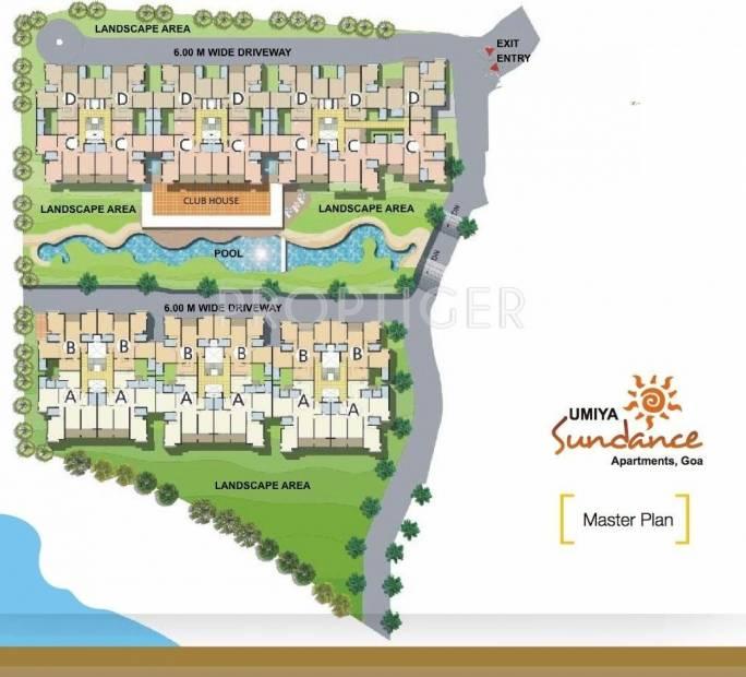 sundance-apartments Images for Master Plan of Umiya Sundance Apartments
