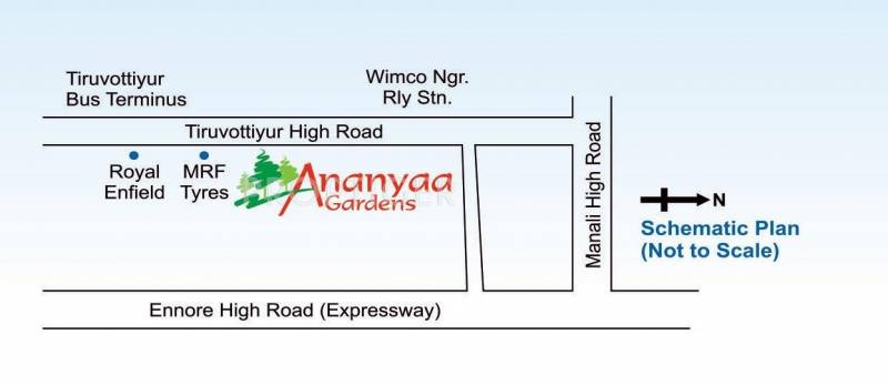ananyaa-gardens-iv Images for Location Plan of Annai Ananyaa Gardens IV