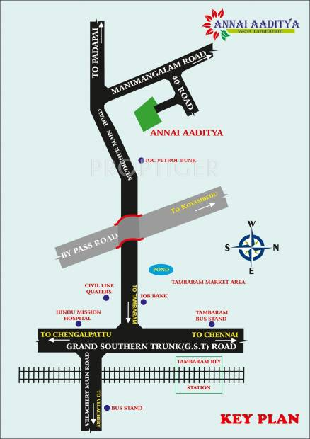 Images for Location Plan of Annai Aaditya