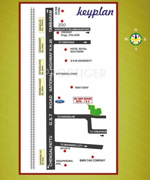 Images for Location Plan of Annai Sri Ram Nagar Extension