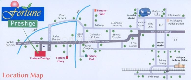 Fortune Builders Prestige Location Plan