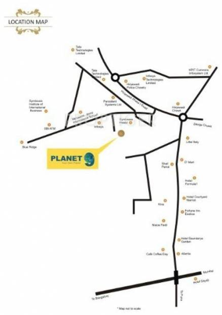 Images for Location Plan of Shree Sai Developers Pune Planet 9