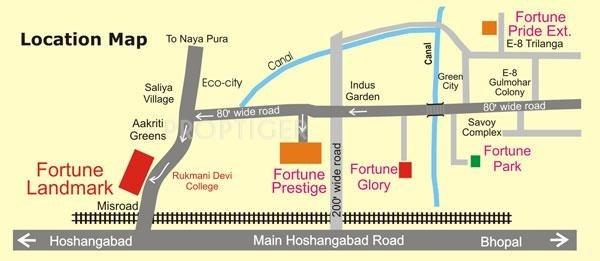 Fortune Builders Landmark Location Plan