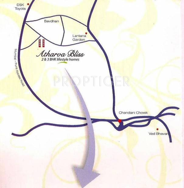 Images for Location Plan of Abhay Atharva Bliss Phase I