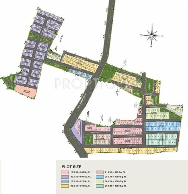 Images for Layout Plan of Rai Bhavya City Phase1