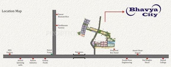 Images for Location Plan of Rai Bhavya City Phase1