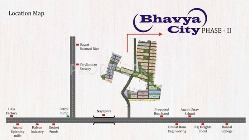 Images for Location Plan of Rai Bhavya City Phase II